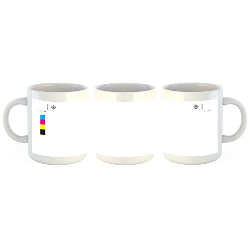 Unified Distribution Test Print - Tasse mit Motiv Bedruckt, 300ml C-Henkel. Tolles Geschenk für Büro, Küche, Geburtstag, Lieblingstasse zum Frühstück