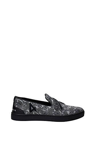 CS1349AL6798P803 Dolce&Gabbana Pantoufle Homme Nylon Gris Gris