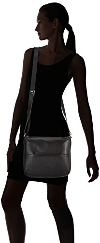 Bree Faro 2, Black, Cross Shoulder M, Sacs bandoulière Femme Noir (black 900)