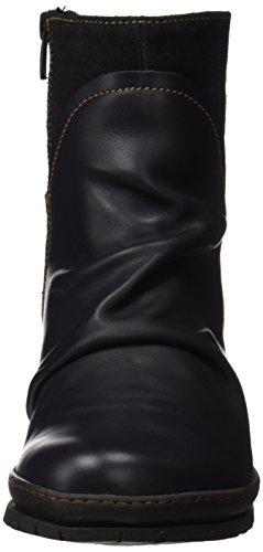Art Damen Oslo Kurzschaft Stiefel Schwarz (Heritage-wax Black 516)