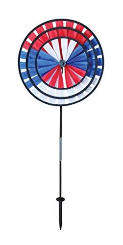 Breeze In The Neon Dreifachrad Spinner, Erdspieß inklusive Patriot -