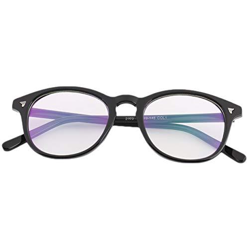 Banbie8409 Mode Stilvolle Vintage Männer Frauen Brillengestell Objektiv Beschichtung Gläser