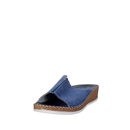 Cinzia Soft IU805S 002 Mules Femme Bleu