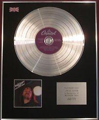 Bob Seger & die Band Silver Bullet Platin CD disc- Night Moves