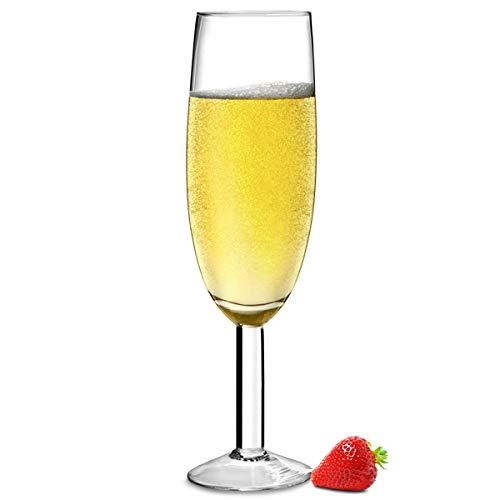 Flûte à champagne géante Bar@drinkstuff pouvant contenir une bouteille entière, 0,9 l
