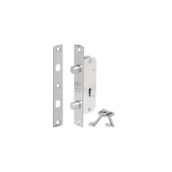 Godrej Narrow Stile Mortise Lock 4 Lever ( 9158 )