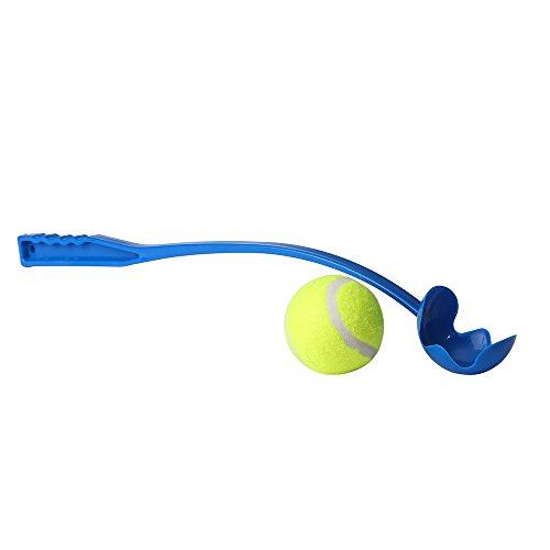 Sport Ballschleuder für Haustiere | Hundespielzeug Ball für Hunde | Wurfball Spielen mit Hunden | Ball Werfen und Aufnehmen | Outdoor Spiel für Tiere