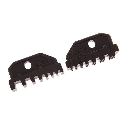 Einsatzbacken für Crimpzange Kabelschuhzange, 19 Formen zum auswählen - A26TW