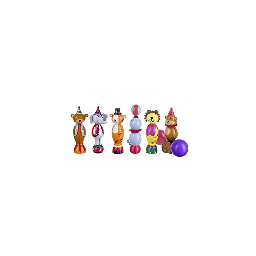 Orange Tree Toys Circus - Skittles de Madera