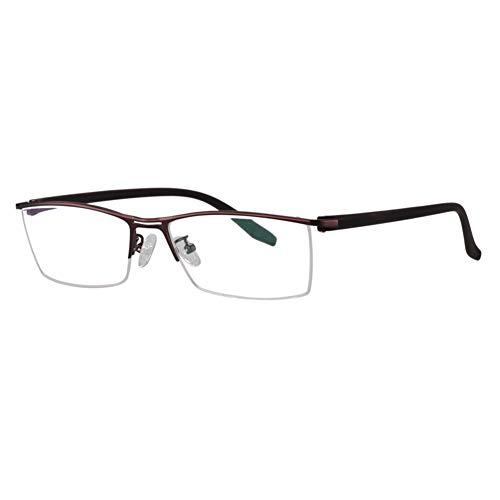 Eyetary Männer Multi Fokus Progressive Lesebrille, Photochrome Sonnenbrillen, 1.56 Brechungsindexlinse - UV400 / Blendschutz/Vergrößerung 1,0 bis 3,0 Stärke,Brown,+1.0
