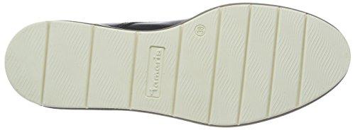 Tamaris 23202, Scarpe Stringate Oxford Donna Blu (Navy Leather)