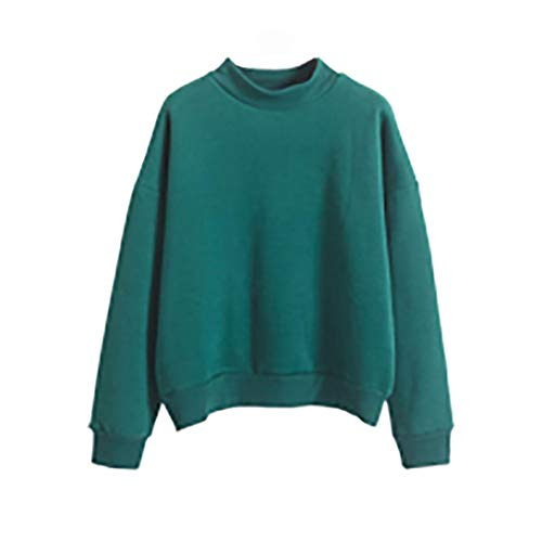 SUNNSEAN Frauen Mädchen Hoodie Sweatshirt Lässige Einfarbig Große Größe Vlies Pullover Damen...