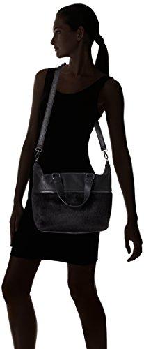 Bcbgeneration Landon The Zipper Tribute Bag-borsa Da Donna Nero