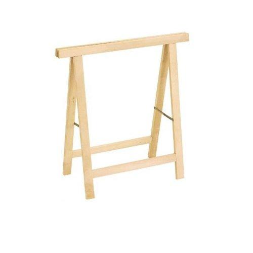 Staffelei wirtschaftlichen \'Hobby\' aus Holz von Fichte roh.