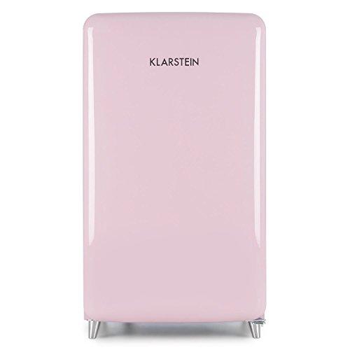 Klarstein PopArt Pink Kühlschrank mit Gefrierfach im Retro-Design - 3