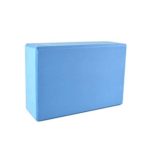 Matériau EVA Briques De Yoga Haute Densité Légères Briques De Yoga Anti-dérapantes Pour Le Yoga (Color : Blue)