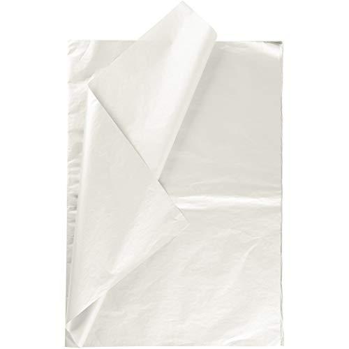 Seidenpapier, Blatt 50x70 cm, 17 g, Perlmutt, 25Bl.