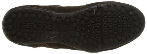 Geox U Snake B, Baskets Basses homme Marron (C6009)