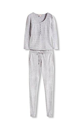 Esprit 116ee1l003, Combinaison Femme Gris (Medium Grey 5 039)