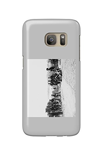 drewrys-bluff-va-gen-henry-abbot-and-staff-civil-war-photograph-galaxy-s7-cell-phone-case-slim-barel