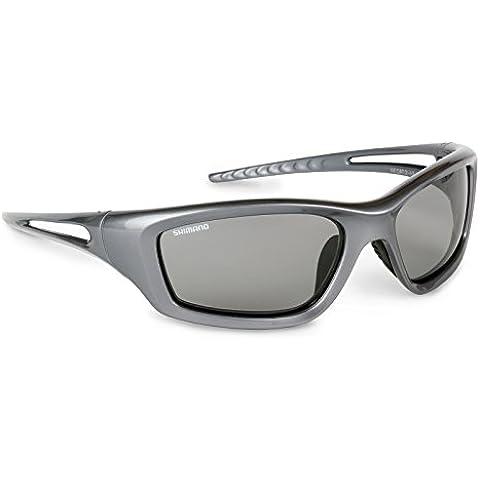 Shimano SUNBIO Biomaster - Gafas de sol (cristales polarizados y fotocromáticos), color gris