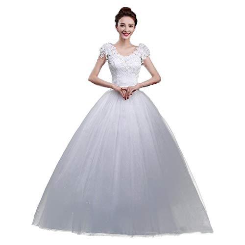 WFL Brautkleid Braut Hochzeit Mode Spitze Hochzeitskleid Hochzeitskleid Qidi Prinzessin...