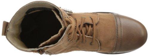 Skechers Persmimmon Chai Combat Boot Brown