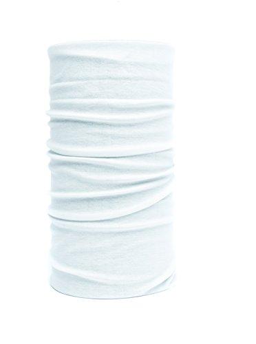 Nexi Écharpe-tube multifonction Multicolore Peut servir de foulard Blanc - Blanc