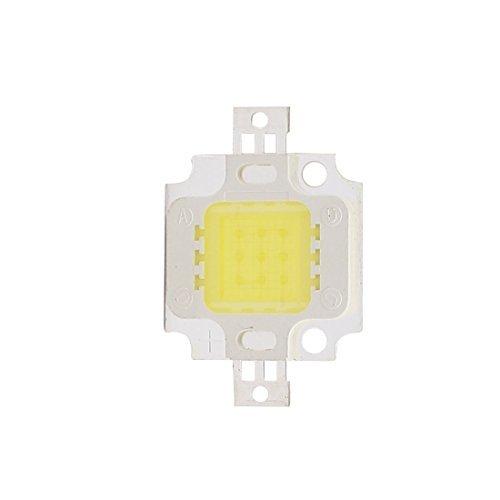 DealMux DC 9-12V 10W reine weiße hohe Leistung SMD LED-Chip Flutlicht Lampen-Korn 29mmx20mm