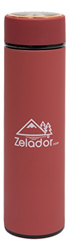 500-ml-red-frosted-double-stainless-steel-vacuum-travel-flask
