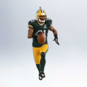 Hallmark 2012Andenken Ornaments qxi2094Charles H. Woodson ~ Green Bay Packers