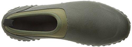 Muck Boots Mens Muckster II Low, Bottes et Bottines de Pluie Homme Marron (Moss/green)