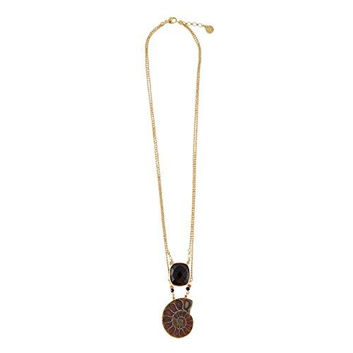 gas-bijoux-donna-ottone-ovale-nero-quarzo-fashionnecklacebraceletanklet