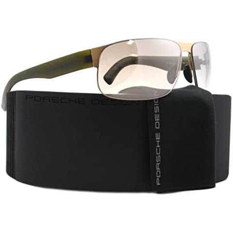 Porsche Design - P8531, Geométrico, metal, hombre, LIGHT GOLD OLIVE/LIGHT GREY(B DC), 67/13/135