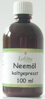 Lavita Neemöl kaltgepresst 100ml