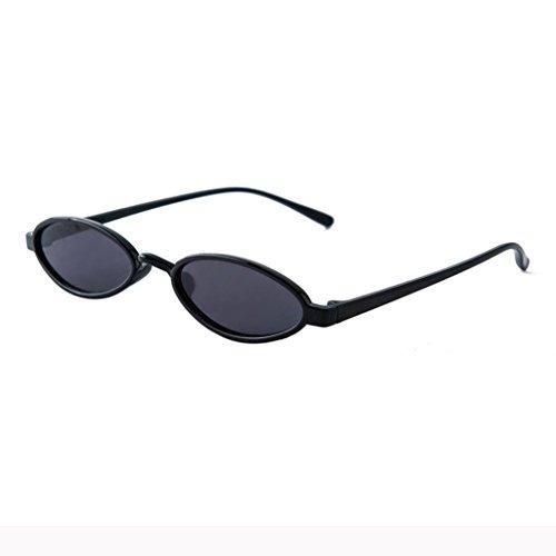Dragon868 Frauen Mode Unisex Oval Shades Sonnenbrille Integrierte UV-Brille Women Sunglasses Sonnen-Überbrille UV400 Schutz (G)