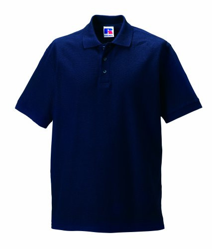 Jerzees Colours Ultimate Polo Shirt Blau - French Navy