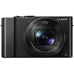 Panasonic Lumix Appareil Photo Compact Expert DMC-LX15EF-K (Grand capteur type 1 pouce 20 MP, Zoom LEICA 3x F1.4-2.8, Ecran tactile inclinable, Vidéo 4K, AF DFD, Stabilisé) Noir - Version Française