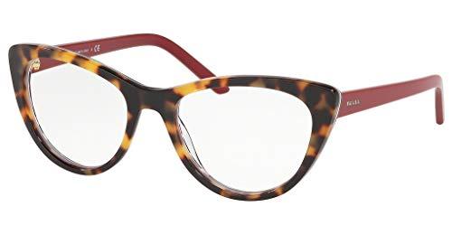 Ray-Ban Damen 0PR 05XV Brillengestelle, Blau (Medium Havana/Red Chest), 53.0