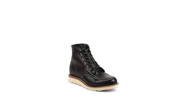 Chippewa 1901M19 Herren Leder Boots schwarz, moc Toe in