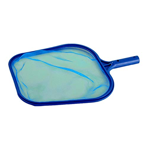 Pool Skimmer Guard (LeoboodeSwimming Pool Leaf Skimmer Feinmaschiges Flachwasser Leaf Net Catcher Schwimmbäder Reinigungsnetz für Whirlpool-Brunnen Spas)