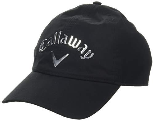 Callaway Herren Waterproof Hat Baseball Cap, Schwarz (Negro 5218326), One Size (Herstellergröße: Única)
