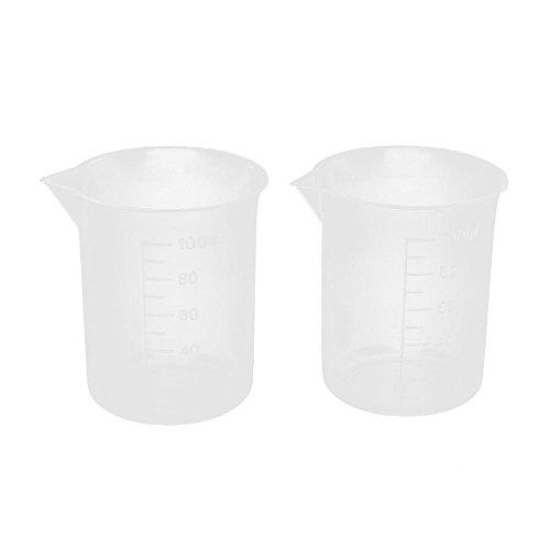 FiedFikt Messbecher-Set, Kunststoff, 100 ml, 2 Stück Oxo-2-oz-good Grips
