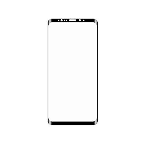 F¨¹r Samsung GALAXY S9 3D Rund gebogene Kante Ausgeglichenes Glas-Film 9H Vollbild-Schutz Telefon Front Cover Regard