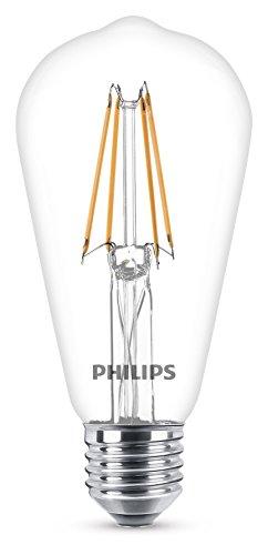 ~ Philips Lampadina LED Classic Edison E27, 6 W Equivalenti a 60 W, Luce Bianca Naturale Calda confronta il prezzo online