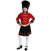My Other Me - Disfraz de guardia inglesa para niña, 7-9 años (Viving Costumes 200942)