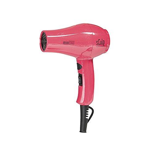 Sculp by Mini 3300 Chroma 1000W - Mini Secador de viaje, color rosa
