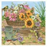 Garden-Bench-Jigsaw-Puzzle,-Multi-Puzzles-Jigsaw