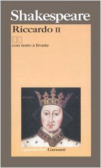 Riccardo II. Testo inglese a fronte