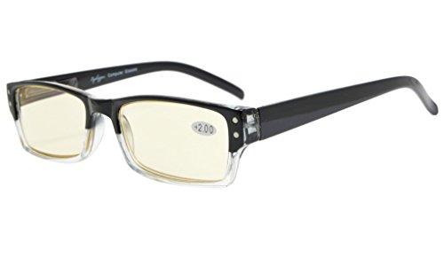 eyekepper-spring-hinge-two-tone-color-computer-glasses-readers-eyeglasses-yellow-tinted-lenses-black